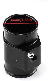 Water Temp Joint Pipe Aluminium Car Water Temp Temperatuur Joint Pipe Slang Sensor Gauge Adapter 26mm Black