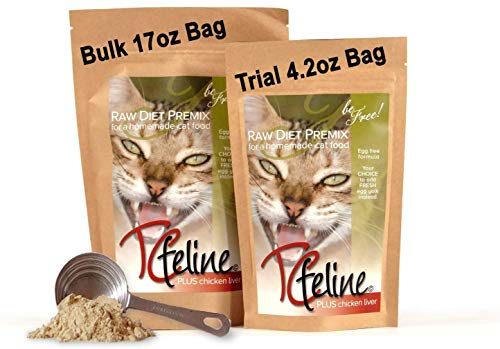 Top 10 best selling list for commercial supplements for raw cat food
