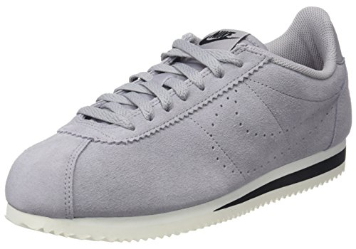 Nike Classic Cortez Suede, Chaussures de Gymnastique Homme Gris (Atmosphere Grey/Atmosphere Grey 001) 47.5 EU