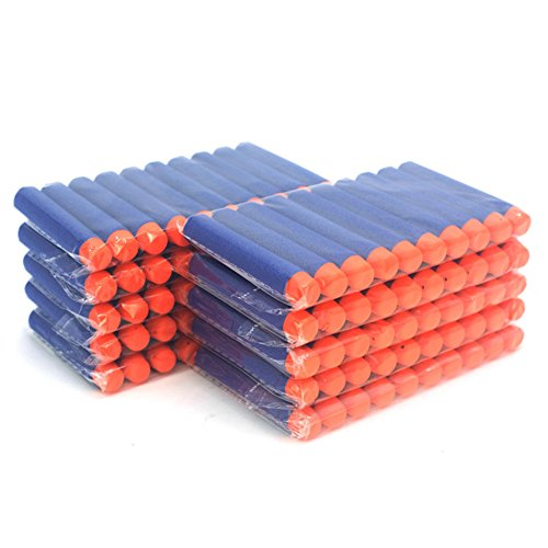 X60 Recharges Balle Bleu pour flechettes Blasters Pistolet Jouet Jeu de Plein Air