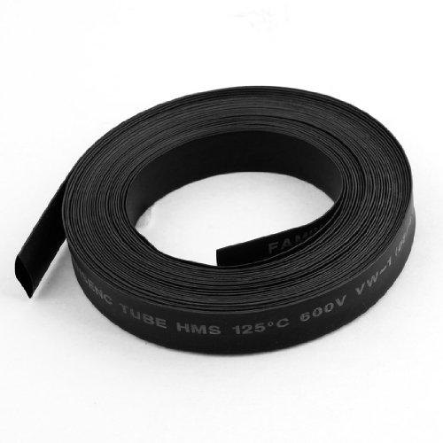Schwarz 8mm Dia. 2: 1Schrumpfschlauch Tube Wire Wrap Kabel Sleeve 5m de