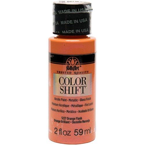Plaid: Craft Folkart Couleur Shift Peinture, Multicolore, 3.3 x 3.3 x 9.9 cm
