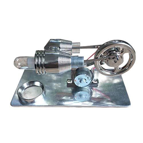 Trueornot Stirlingmotor Bausatz, Stirling Motor Modell Physik Wissenschaft Experiment Spielzeug, Sterling Engine Motor Basis Wissenschaft Pädagogisches Modell