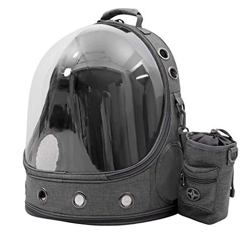 VEED Mochila portadora portátil para mascotas transparente de espacio de viaje, perro, gato, cachorro, bolsa de transporte para uso al aire libre