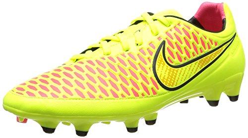 Nike Magista Orden FG, Stivali Uomo, VLT/Mtlc Gld CN-Blck-Hypr Pnch, 40