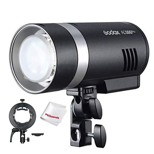 Godox AD300Pro AD300 Pro Flash, 2.4G TTL 1/8000 HSS, 0.01-1.5S Tiempo de reciclaje, 320 flashes de...