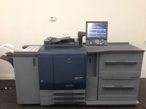 Best Review Of Konica Minolta Bizhub Pro C6000 Copier Printer Scanner PF-602 LCT, FS-531 646k!