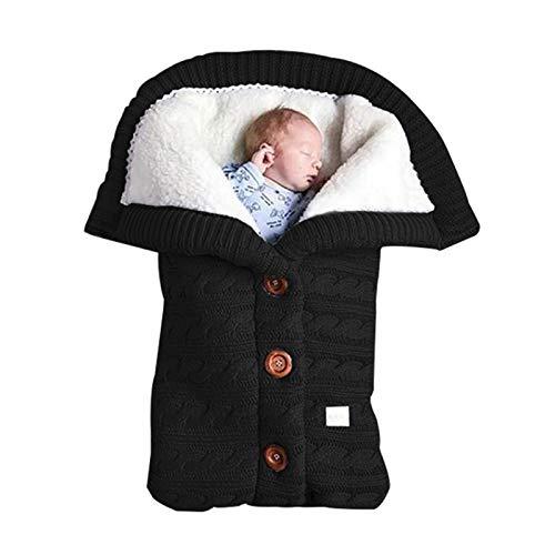 XIANGBEI Saco de dormir para cochecito de bebé, cálido invierno, saco de dormir, bata para viajes al aire libre, cochecito de bebé, resistente al viento, cálido, saco de dormir para asiento de coche