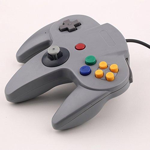 SATKIT Mando Pad tipo Nintendo 64 N64 conector original n64 mando compatible