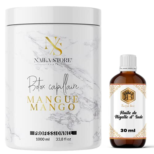 Botox capillaire by Naila Store 1L Made in France