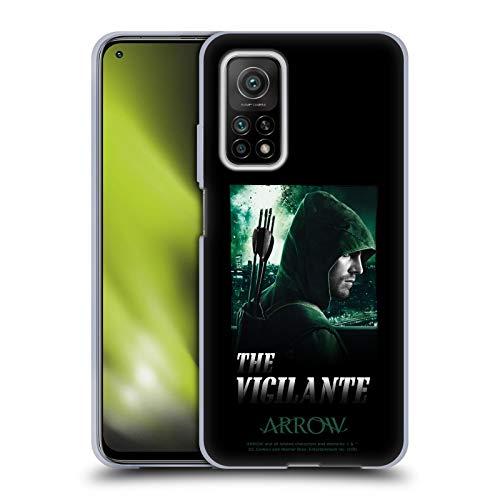 Head Case Designs Oficial Arrow TV Series The Vigilante Graphics Carcasa de Gel de Silicona Compatible con Xiaomi Mi 10T 5G