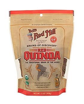 Bob s Red Mill Organic Red Quinoa Grain 13 Oz