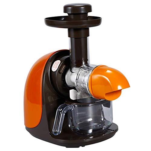 SXXYTCWL Máquinas de expresión, exprimidor de masticación Lenta Horizontal Hace Que el Jugo Fresco Continuo y el Jugo de Vegetales del diseño Compacto antioxidando la Velocidad Lenta. jianyou