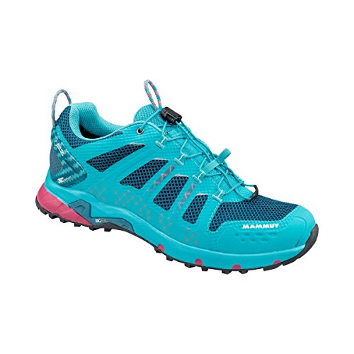 Mammut Chaussures T AENERGY Low GTX Femme Light Pacific/Dark Pacific Femme Bleu (Light Pacific/Dark Pacific)