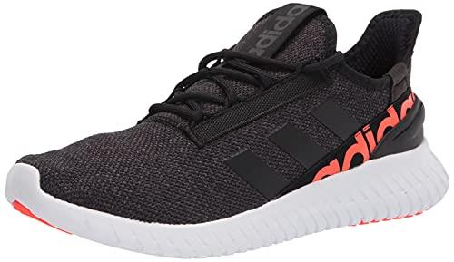 adidas Men's Kaptir 2.0 Running Shoes, Black/Black/Grey, 11