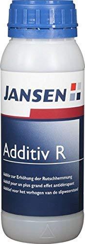 Additiv R 500g. Rutschhemmer verwendbar für Aqua Fußbodenlack, Aqua 2K Bodensiegel, Acryl Holzsiege