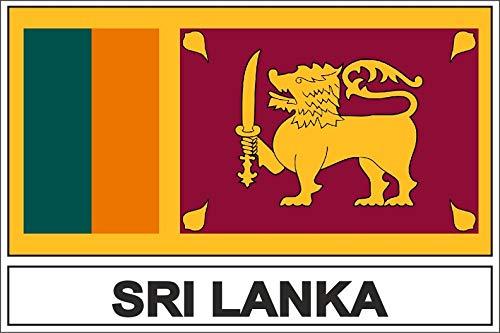 Akachafactory sticker vlaggen vlag vlag vlag cl sri Lanka