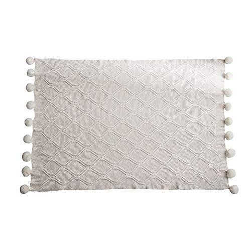 CRXL shop-elektrische dekens 100% polyester microvezel deken, gebreide deken, zacht en comfortabel, wonen en gezellig deken, voor baby bank bed bank stoel auto kantoor, 130x160 cm