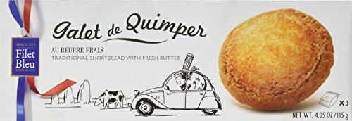 Filet Bleu Butterkekse aus Quimper, 12er Pack (12 x 115 g)