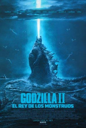 Godzilla : King of The Monsters – Mexican Movie Wall Poster Print - 43cm x 61cm / 17 Inches x 24 Inches A2