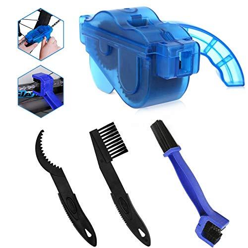 TaimeiMao Fahrrad Kettenreinigungsgerät,Kettenreinigungsgerät,Reinigung Scrubber Pinsel-Werkzeug,Fahrrad Kettenreinigungsgerät Kit,Fahrrad Kettenreinigung (B)