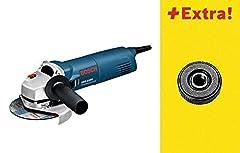 Bosch Professional GWS 1100 Vinkelslip med SDS Klicka i kartong, 0601822400