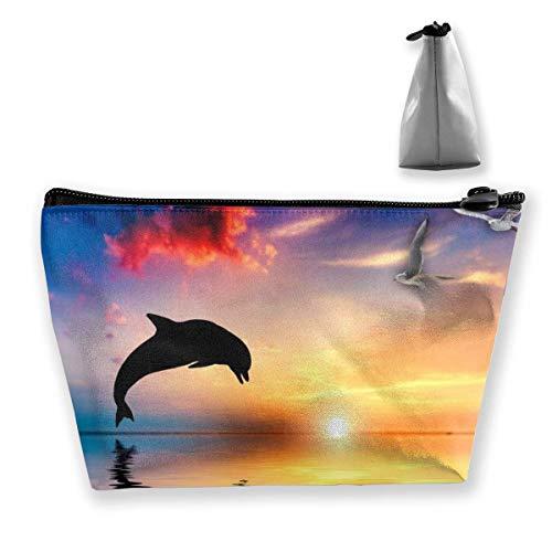 Trousse de toilette Motif dauphins