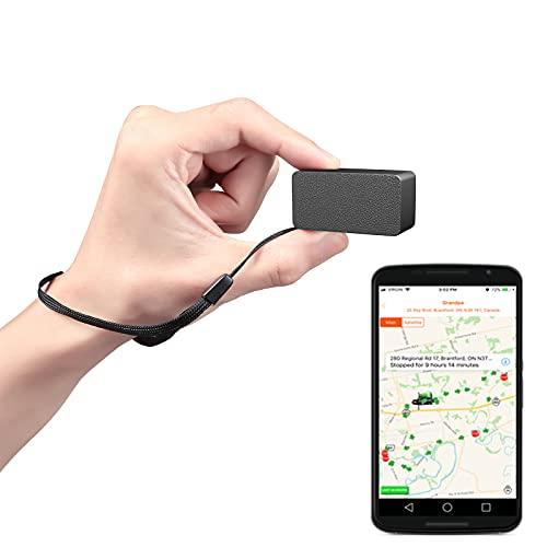 LMHOME - LM008 in tempo reale piccolo dispositivo di localizzazione GPS per auto, localizzatore di servizi GPS per bambini, ragazzi in tempo reale di guida allenatore, GPS e sistema di monit