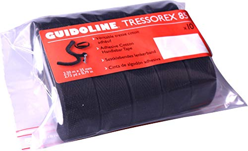 VELOX Guidoline Tressorex 85 Noir (Sac de 10)