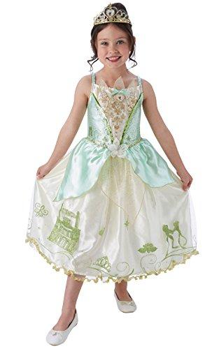 Rubie' s - lussuoso costume ufficiale da Principessa della Disney Tiana, per bambini