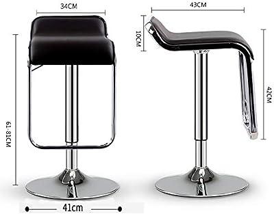 Groovy Amazon Com Magshion Red Leather Square Seat Design Swivel Creativecarmelina Interior Chair Design Creativecarmelinacom