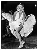 afbaby - Cuadro decorativo para el hogar, diseño de Marilyn Monroe, lona, Nordic Xrl1525-01, 20x25cm No Frame