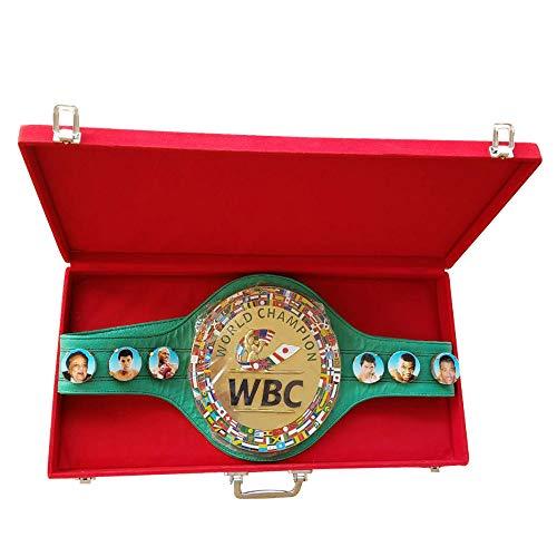 WBC 3D Champion Ship Boxgürtel Leder Replica Erwachsene mit Box