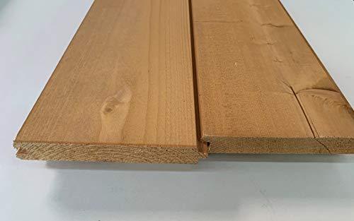 Perline sottotetto abete impregnato tinta miele sp.20x150x2000 pz.5 resa mq. 1,35. Made in Italy