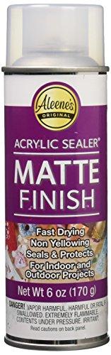 Aleene's 26413 Spray Matte Finish 6oz Acrylic Sealer, Original Version