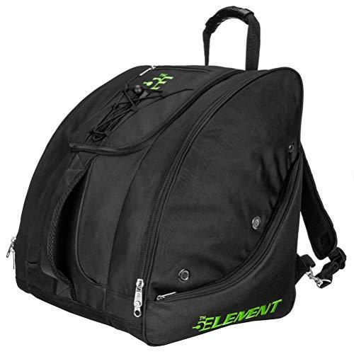 5th Element Bomber Boot Bag 2021 - Black-Green -  BBB-0411-GN