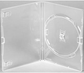 AGI AMARAY 25 X Genuine Amaray Single DVD Clear Case 14mm Spine - Pack of 25