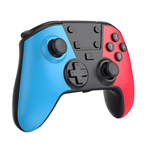 Wireless Gamepad Controller per switch PC Pannello tattile Joypad con Joystick per Giochi a Doppia Vibrazione