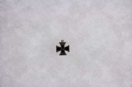 Miniatur, EK II, 1914, Silber, einseitig, emailliert, guter Zustand. H: 14 mm, B: 12 mm,