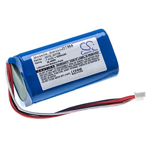 vhbw batería Compatible con Sony SRS-XB40, SRS-XB41 Altavoz Altavoces (5200mAh, 7,4V, Li-Ion)