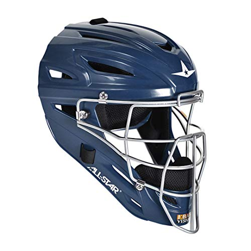 All-Star MVP2500NA S7 Catching Helmet/Adult/Solid NA