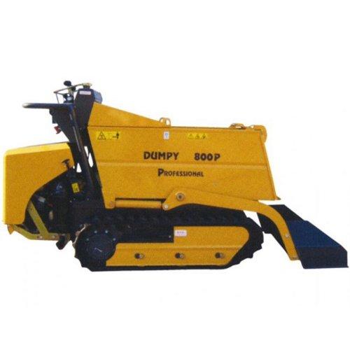 Transporteur Dumper sur chenilles DUMPY 800D - Kubota DIESEL - 800 kg - Chargement et Basculement hydraulique