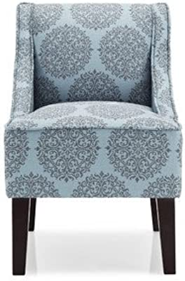 Marlow Gabrielle Slipper Chair Color: Teal