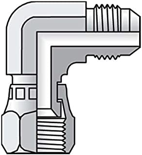 Parker Triple-Lok - Swivel Nut Elbow 37° Flare / 37° Swivel