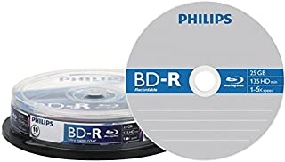 Philips BD-R 25GB BR2S6B10F/00 Single Side, Single Layer 25000 MB