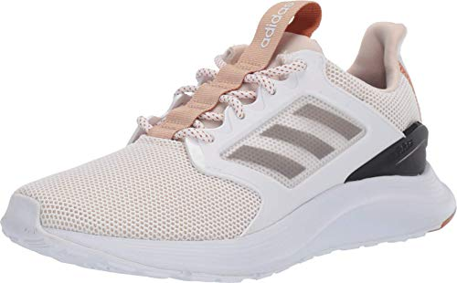 adidas Women's EnergyFalcon X Running Shoe, Linen/grey/tech Copper, 8 M US