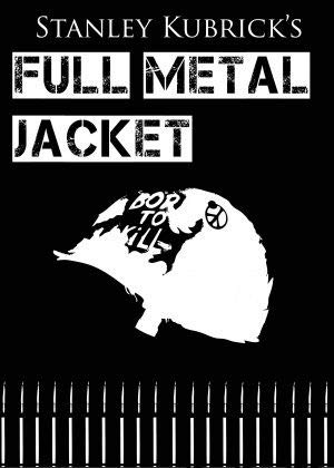 FULL METAL JACKET –米国輸入映画ウォールポスター印刷-30CM X 43CM