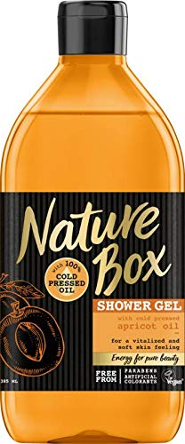 Nature Box Douchegel Abrikoos, 385 Ml
