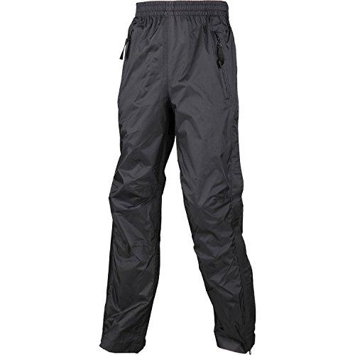 High Colorado Sport 2000 Rain Kids 2/Pantalon de Pluie pour Enfant, Full Zip 14 Ans Noir - Noir