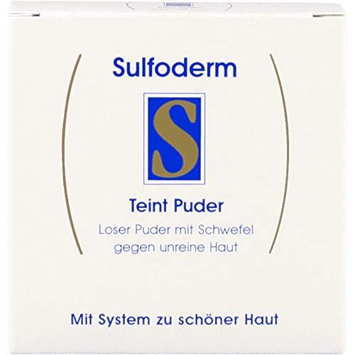 Sulfoderm S Teint Puder 20g